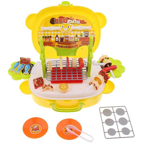 Image of Panda BBQ Play Set Suitcase