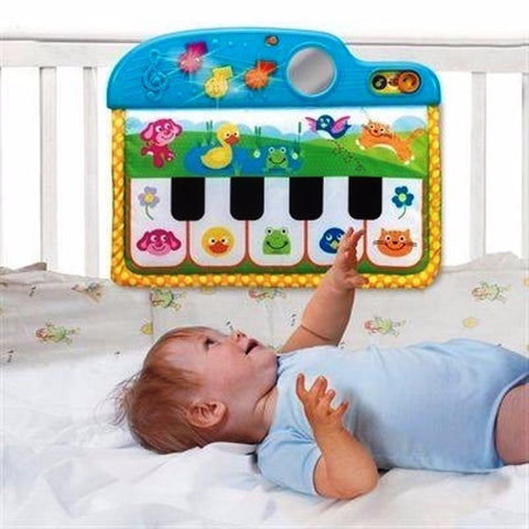 Image of Winfun Piano Cradle For Baby Musical Fabric