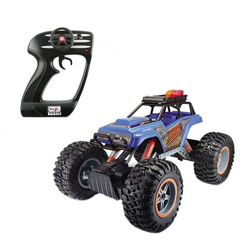 Image of Maisto R/C Rock Crawler 3XL Blue-81157