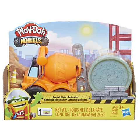 Hasbro Play-Doh Wheels Mini Cement Truck