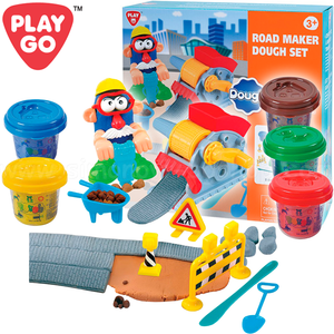 PlayGo Dought Set of Plastilin Road Construction 8637