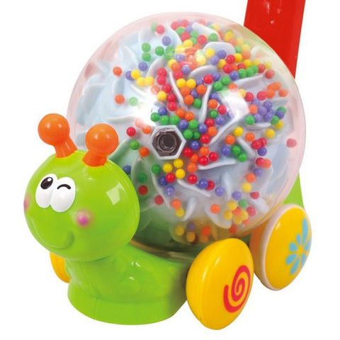 PlayGo Push & Roll Snail