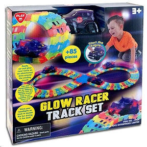 Playgo Illuminated flexible highway with small car 2904