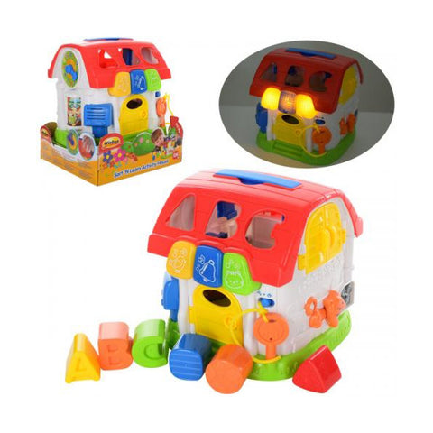 Winfun Sort N Learn Activity House--0772