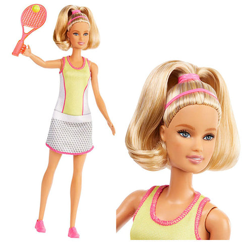 Image of Barbie Career Tennis Player Doll