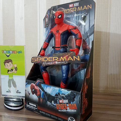 Premium Rubberized Action Figure - Spider Man