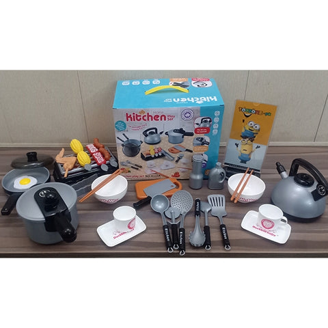 Pretend Play Cookware For Little Chef