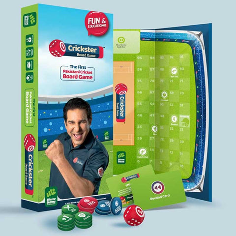 Image of Crickster | Pakistan's First Cricket Board Game