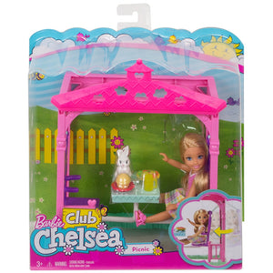 Barbie Chelsea Picnic and Pet Playset