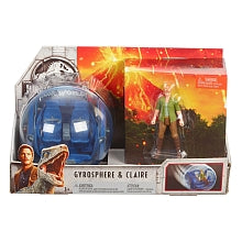 Image of Jurassic World Story Pack Gyrosphere & Claire-FMM49