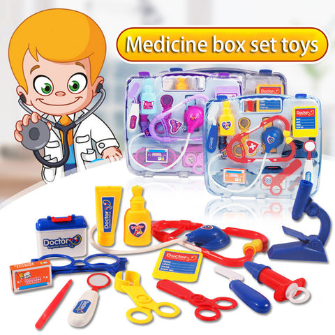 Image of Kids Doctor Nurse Medical Carry Case