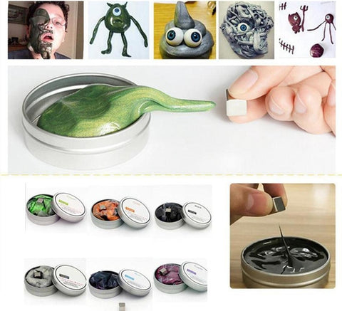 Original Magnetic Mass Rubber Putty Slime