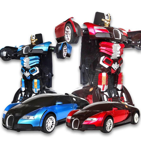 Radio Control Deform Robot Car