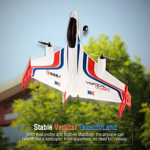 X520 RC Airplane Vertical Takeoff