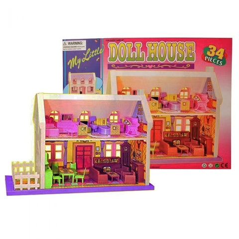 Mamma Mia | Doll House 34 Pcs
