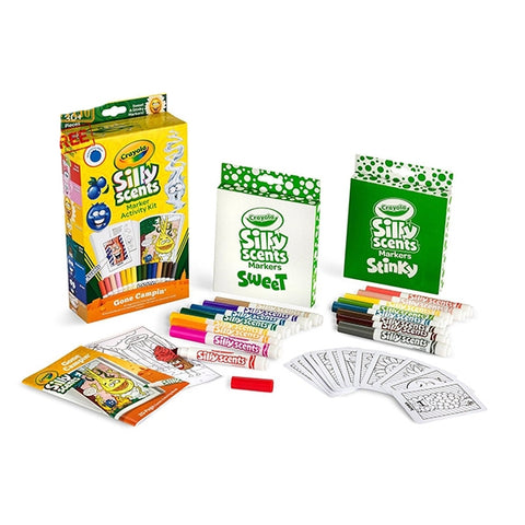 Image of Crayola Silly Scents Marker Activity Set 30pcs