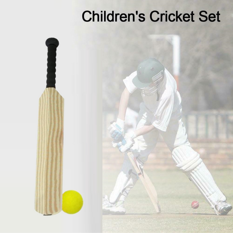 Image of EVA Foam Cricket Bat and Ball Set