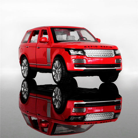 Metal Body Range Rover With Lights and Sound At Toyzone.Pk
