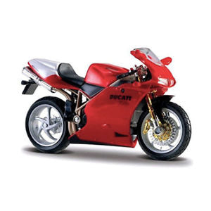 Image of Bburago 1:18 Motorcycle Set