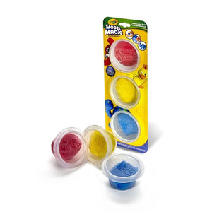 Crayola Model Magic Craft Dough 3 Pots Primary Colours - STO