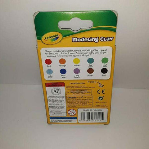 Crayola Modeling Clay 10 PC