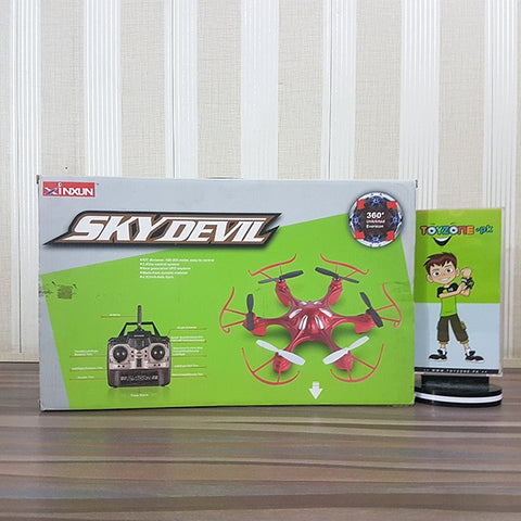 Image of Remote Control Sky Devil Quadcopter