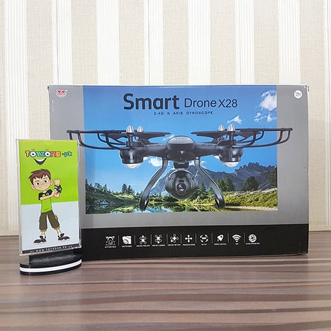 Remote Control Quadcopter With Auto Height Set