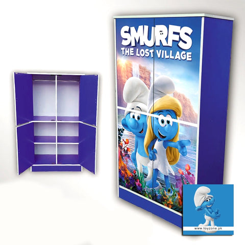 Image of Smurfs | 4 Door Wardrobe