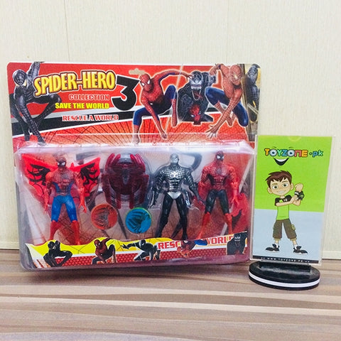Super Hero Spiderman Collection