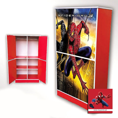 Image of Spiderman | 4 Door Wardrobe