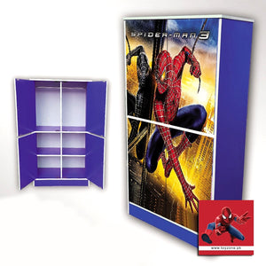 Spiderman | 4 Door Wardrobe