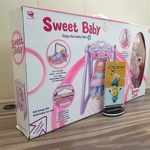 Sweet Baby Doll With Swing