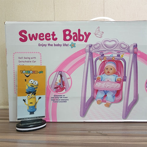 Image of Sweet Baby Doll With Swing