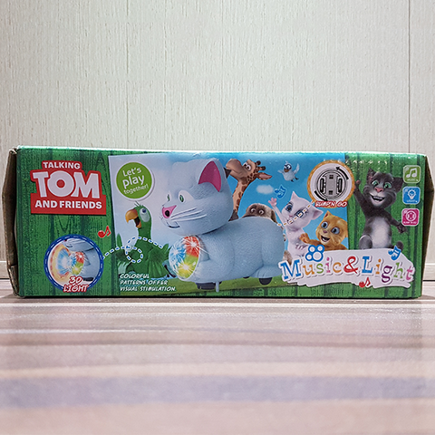 Image of Talking Tom with 3D Light Wonderful Music