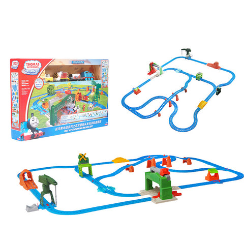 Fisher Price Motorized Railway Day at the Docks Deluxe Set