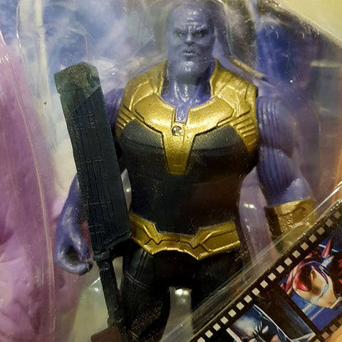 Image of Marvel Avengers Hero - Thanos Figure With Mask (2in1)