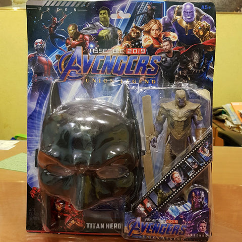 Image of Marvel Avengers Hero - Thanos Figure With Batman Mask (2in1)