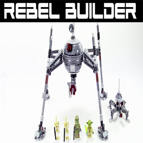 Image of LEGO Star Wars Homing Spider Droid-75142