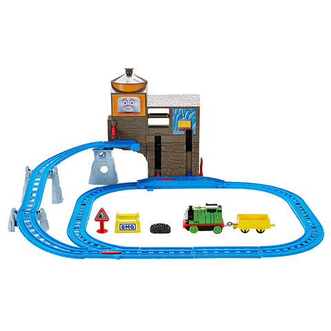 Image of Thomas & Friends Motorized Railway Percy's Load & Lift Set