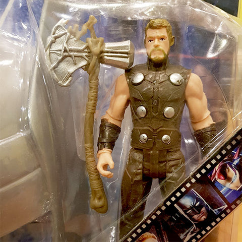 Image of Marvel Avengers Hero - Thor Figure With Mask (2in1)