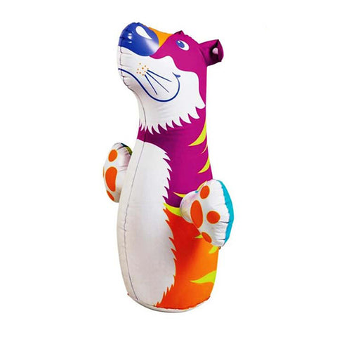 Intex 3D Bop Bag Blow Up Inflatable Tiger
