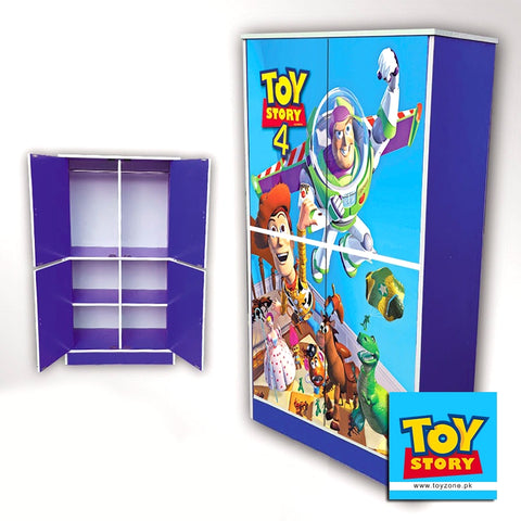 Image of Toy Story 4 | 4 Door Wardrobe