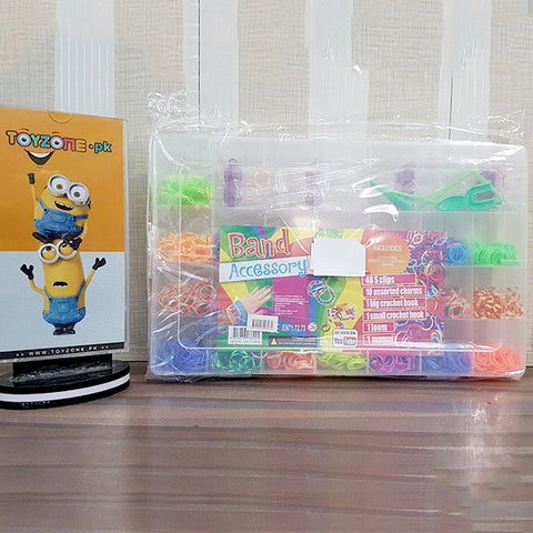 Image of Rainbow Rubber Bands with Storage Case