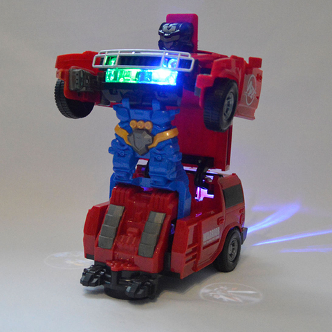 Transformer Hummer Robot Car 2 in 1