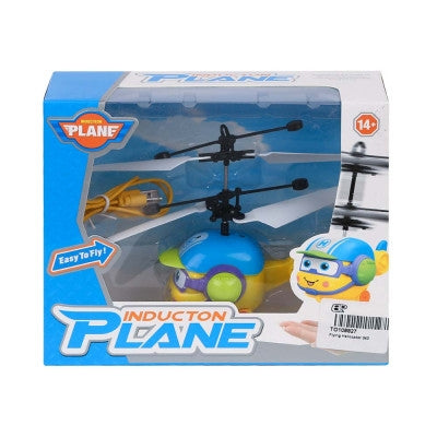 Mini Flying Helicopter Infrared Induction Aircraft with Flashing Light