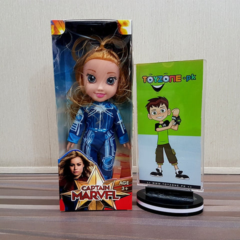 Image of Captain Marvel Star Force Toddler Doll