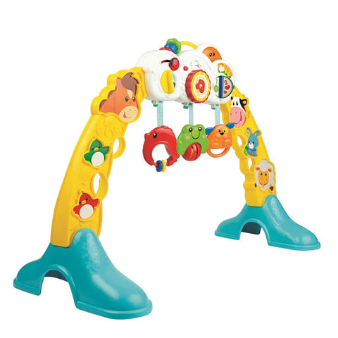 Image of Winfun 3-in-1 Barnyard Pals Play Gym
