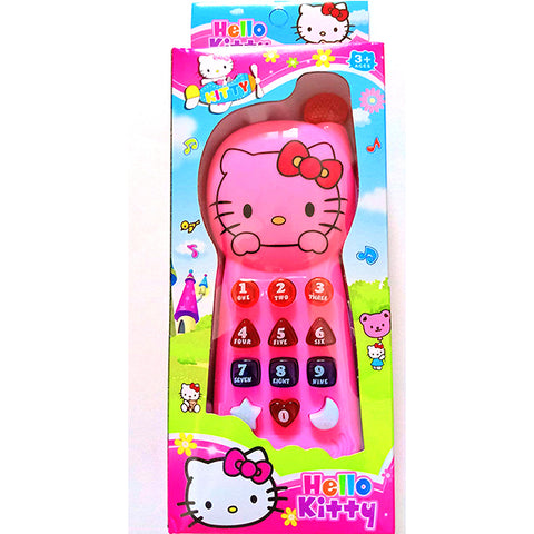 Hello Kitty Musical Mobile Phone Toy with Music & Lights
