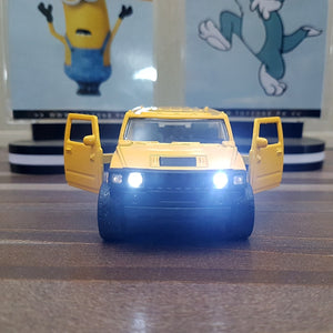 Diecast Car Hummer With Light & Sound-F1102-1M