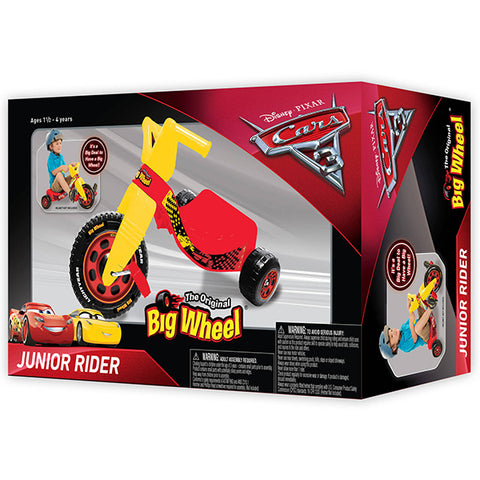 Image of Disney Cars 3 Jr Big Wheel